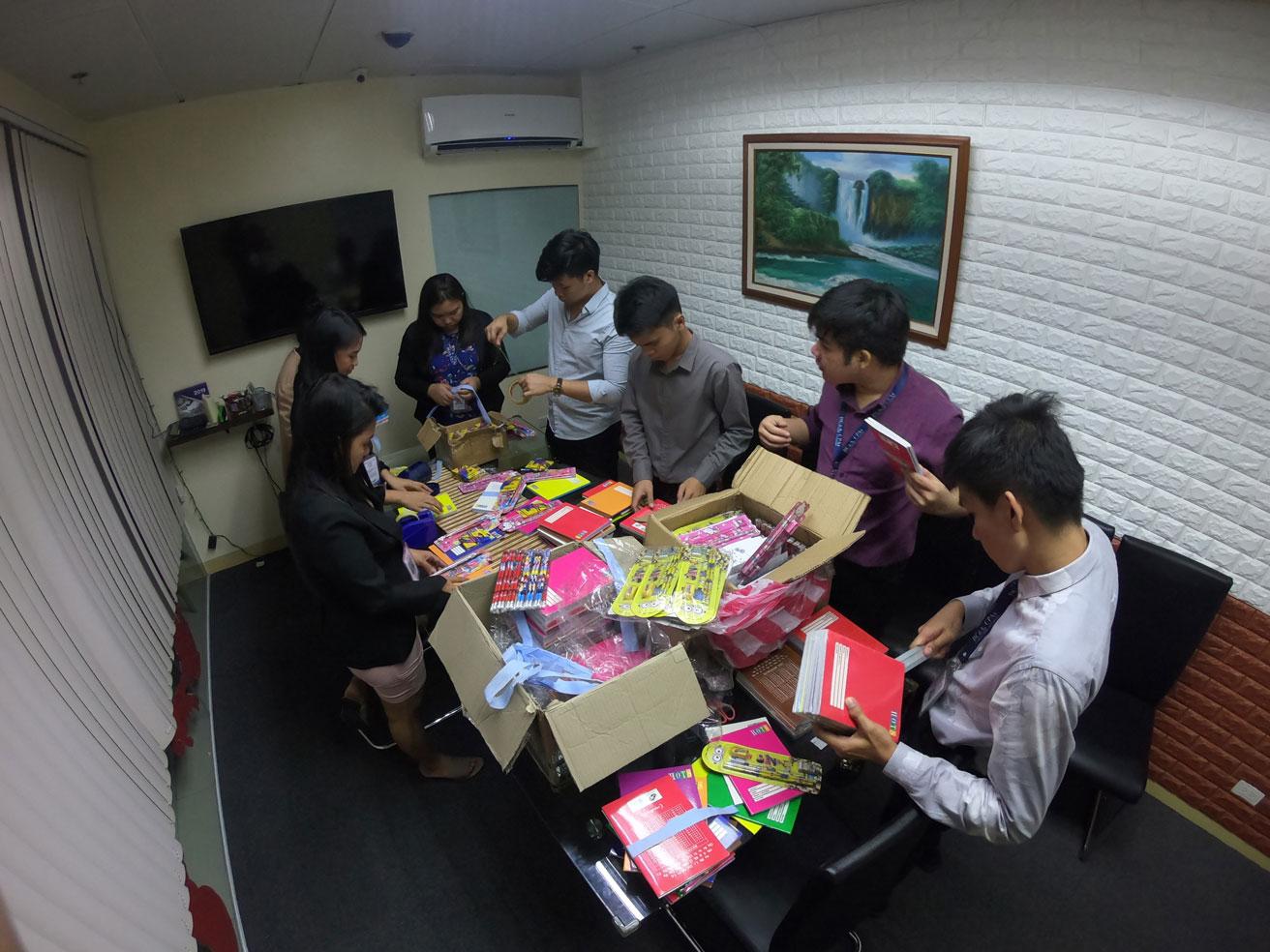 Gift Giving December 2019 To JC Light Christian Ministries